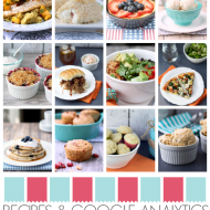 Google Analytics Stats and July Recipes