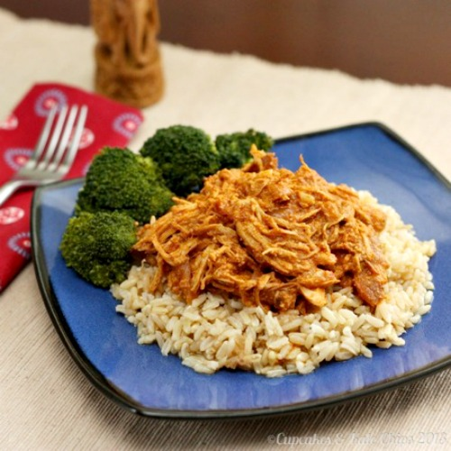 Crockpot Indian Butter Chicken by Cupcakes and Kalechips