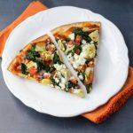 Tomato Spinach & Artichoke Pizza
