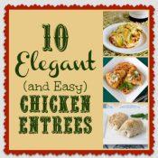 10 Elegant Chicken Entrees
