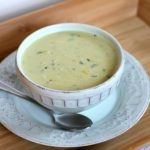 Roasted Poblano & Crab Chowder