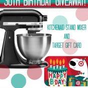 KitchenAid plus Target Giveaway