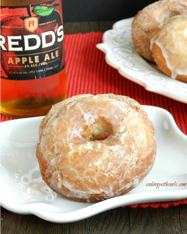Apple Ale Doughnuts by Cooking with Curls