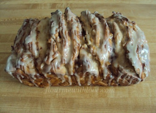 Apple Fritter Bread by Flour Me With Love