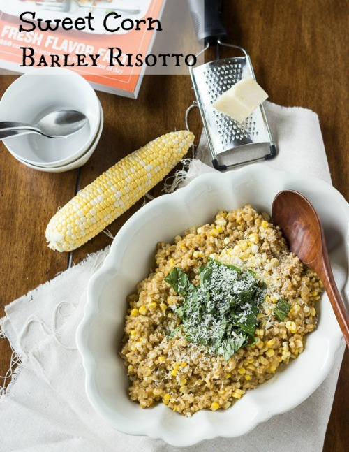 Sweet Corn Barley Risotto by The Adventures of MJ and Hungryman