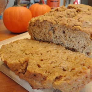Spiced Pumpkin Ale Bread from Frugal Foodie Mama