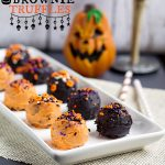 Halloween Brownie Truffles from www.thisgalcooks.com #halloween #brownies #truffles