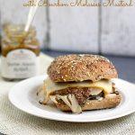 Hot Turkey Sandwiches with Bourbon Molasses Mustard by This Gal Cooks. #hotsandwiches #turkey #bourbonmolassesmustard