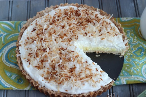 No Bake Lemon Pie by Cooking on the Front Burner