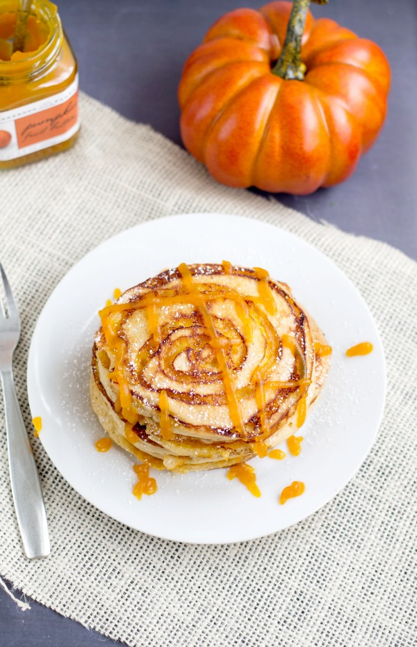Pumpkin Spice Pancakes With Pumpkin Butter Recipes — Dishmaps