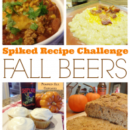 Fall Beer Recipes {Spiked Recipe Challenge}