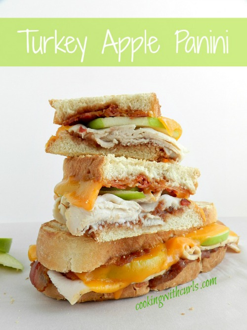 Turkey Apple Panini by Cooking With Curls
