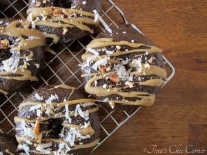 German Chocolate Cake Doughnuts by Tina's Chic Corner