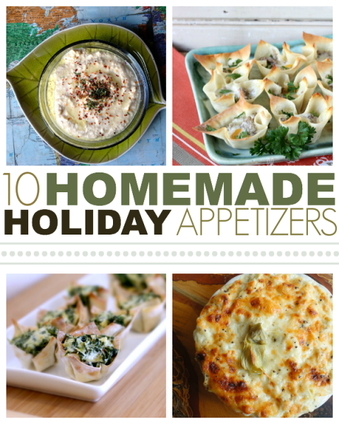 Ten Homemade Holiday Appetizers