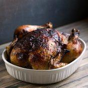 Oven Roasted Rotisserie Style Chicken