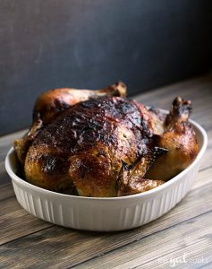 Oven Roasted Rotisserie Style Chicken