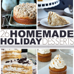 26 Homemade Holiday Desserts