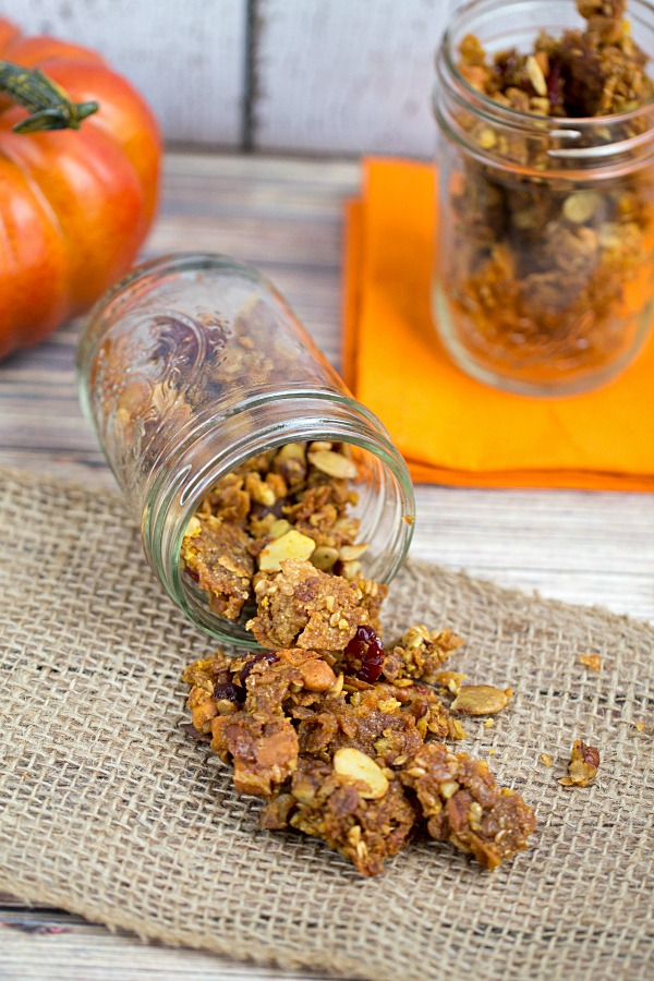 Autumn Granola Recipe