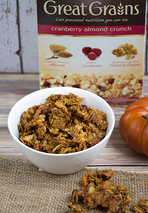 Easy Autumn Granola Recipe