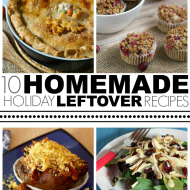 Over 10 Ways to Use Holiday Leftovers
