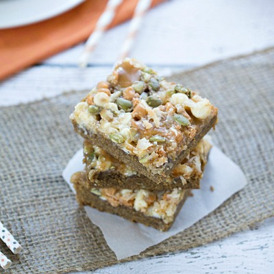Pumpkin Spice Gooey Magic Bars4