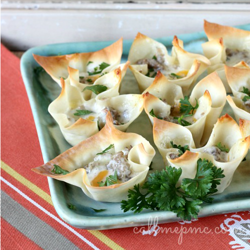 Sausage & Cheese Cups by Call Me PMc