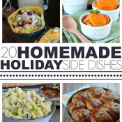 Over 20 Homemade Holiday Side Dishes