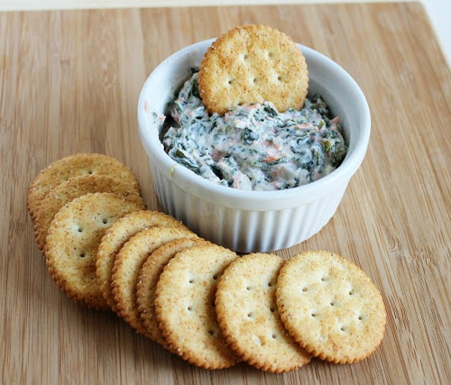 Spinach Dip by It Bakes Me Happy