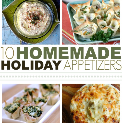 6. 10 Homemade Holiday Appetizers