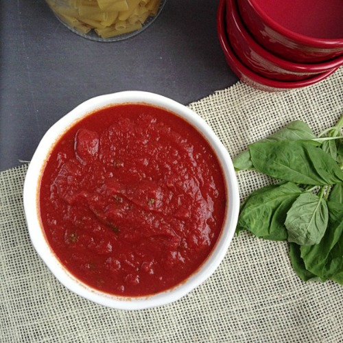 9. Crockpot Spaghetti Sauce