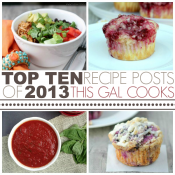 Top Ten Recipe Posts of 2013