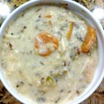 Crockpot Creamy Chicken Wild Rice Soup