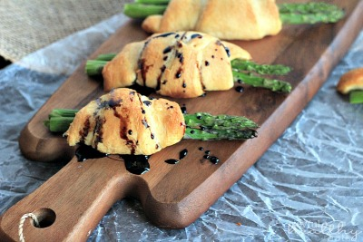 One of my favs were these Asparagus Rollups with Balsamic Reduction by Joyful Healthy Eats