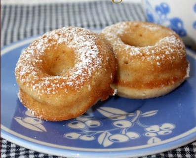 Our most viewed link was these Eggnog Baked Donuts by Thimbles, Bobbins, Paper and Ink