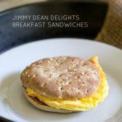 Jimmy Dean Delights Breakfast Sandwiches