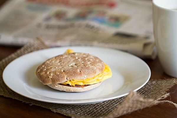 Jimmy Dean Delights Breakfast Sandwiches on This Gal Cooks #Breakfast Delight #PMedia #Ad