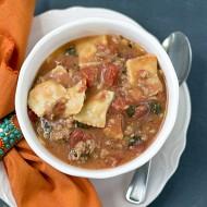 Easy Ravioli Soup Recipe