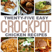 25 Easy Crock Pot Chicken Recipes - This Gal Cooks #chicken #slowcooker #dinner