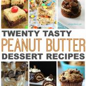Twenty Tasty Peanut Butter Desserts