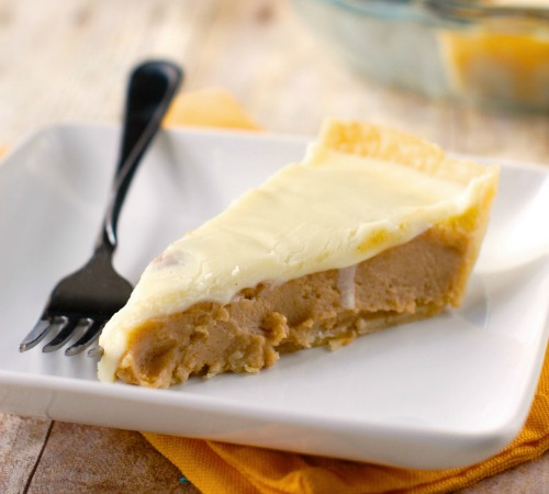 Peanut Butter Pie with White Chocoalte Ganache by Wine and Glue