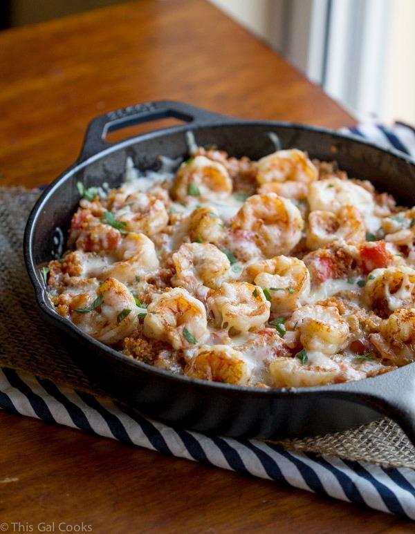Recipe for shrimp casserole with pasta