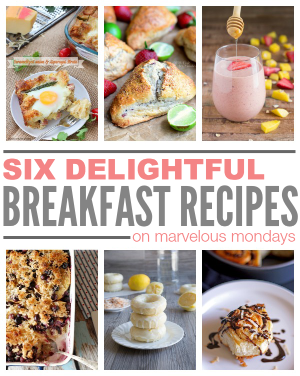 Marvelous Mondays 96 with Breakfast Recipes on This Gal Cooks