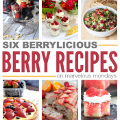 Marvelous Mondays 97 with Berrylicious Berry Recipes on This Gal Cooks
