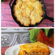 Easy Skillet Tamale Pie by A Little Claireification