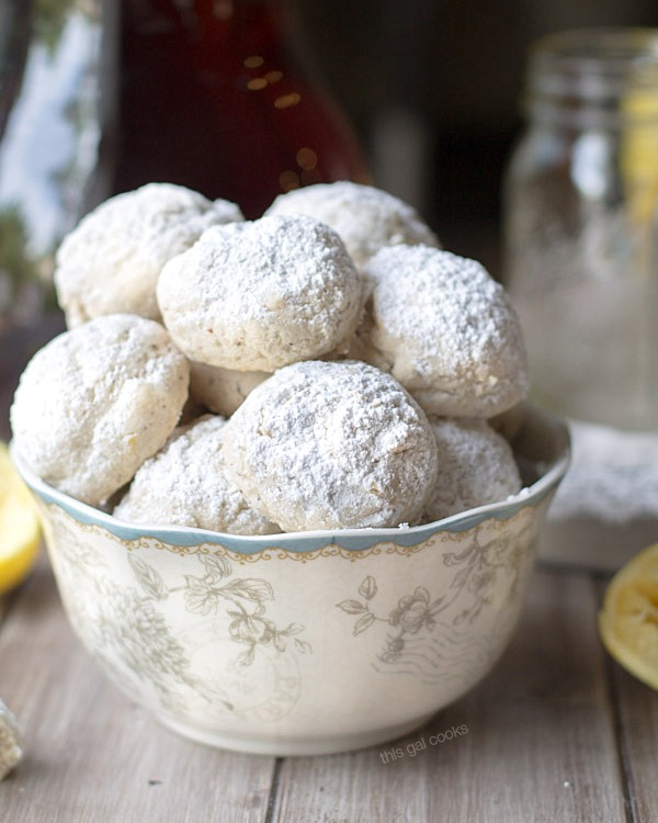 Lemon Poppyseed Tea Cookies Summer Tea Time This Gal Cooks