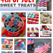 Over 25 Fourth of July Sweet Treats