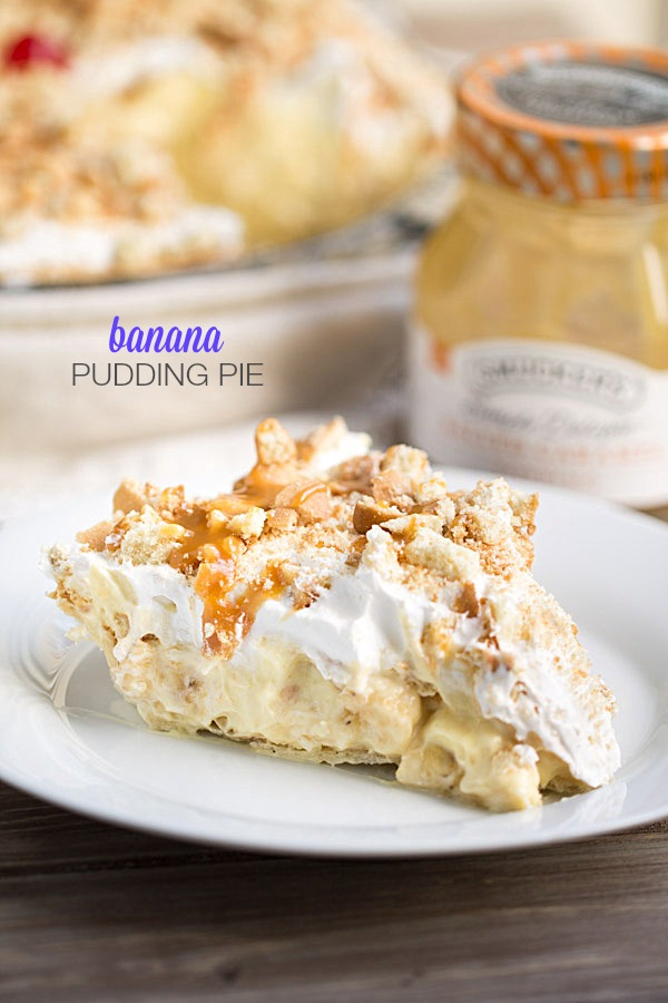 Best Ever Banana Pudding Pie | Best Pie Recipes Ever: Perfect For Christmas And Special Holidays