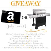 $300 Amazon Card or Grill Giveaway + Grilling Recipes