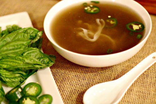 Slow Cooker Pho by Menu of Musings