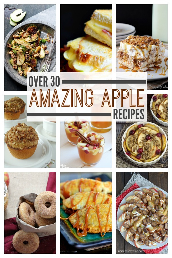 Over 30 Amazing Apple Recipes. This Gal Cooks for Cooking on the Front Burner.